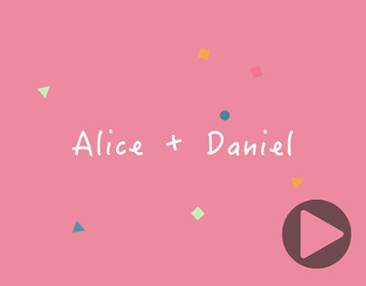Save The Date - Alice + Daniel