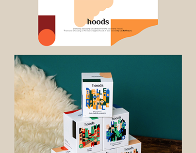 Hoods by Les raffineurs - Packaging
