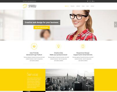 SPARROW | Creative Landing Page