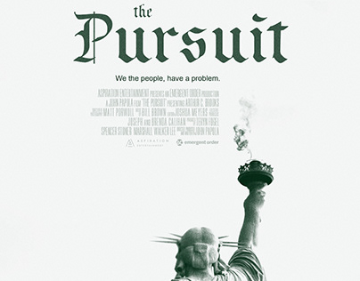The Pursuit Theatrical Key Art Design
