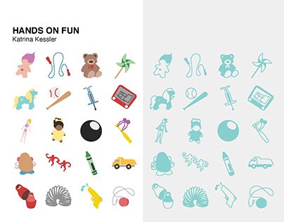 Icons: Toy Theme- Hands on Fun