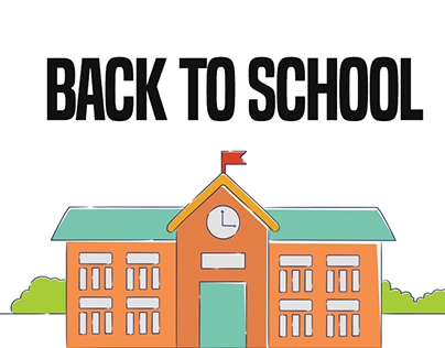Back To School Web Page Design