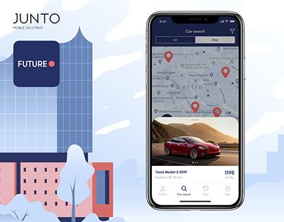 Future.rent iOS & Android app