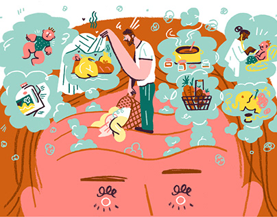 Worry Work aka Mental Load – For NYT Parenting