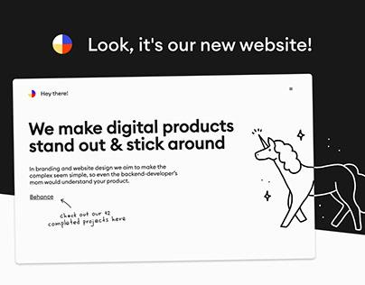 Embacy. Website redesign