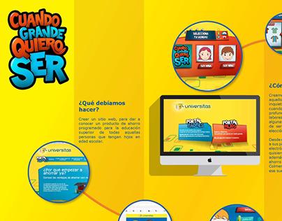 Web Universitas- Programa de ahorro para el futuro.