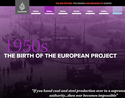 Making & breaking of Europe - Digital adaptation, AJE