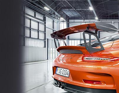 PORSCHE GT3 RS | CGI