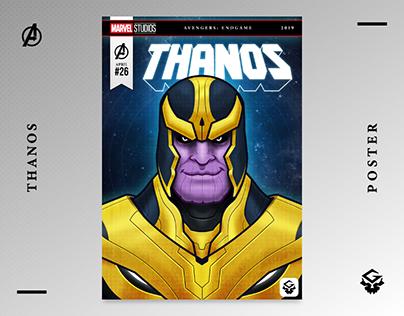 Thanos   Avengers: Endgame   Fan Art