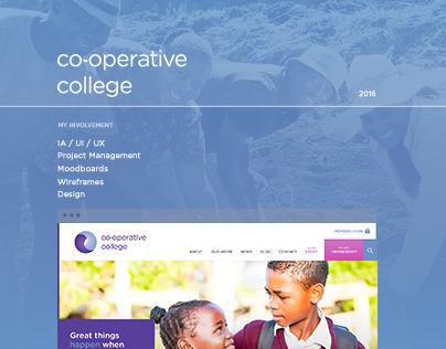 Co-operative College - Website Design