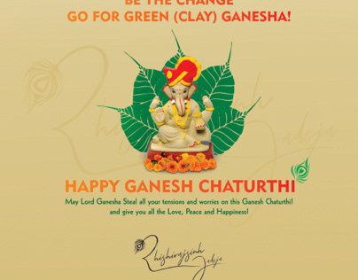 Ganesh Chaturthi Social media post