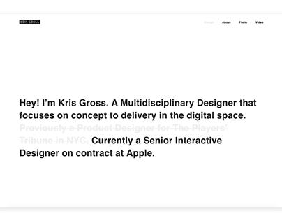 Kris Gross Portfolio
