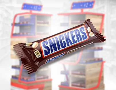 Displays Snickers