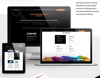 Quintagroup website