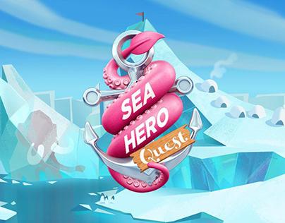 Sea Hero - Print Campaign / Art Direction