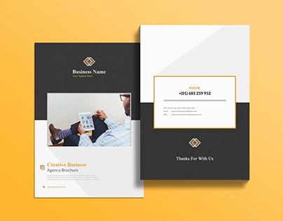 8 pages Brochure Deign, A4 /Bi fold/tri fold