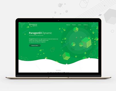 ParagonEX Dynamic - Corporate website