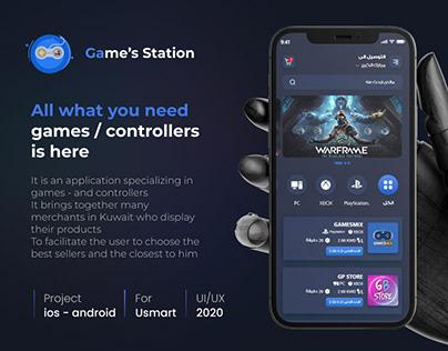 Game Gear E-commerce - UI/UX