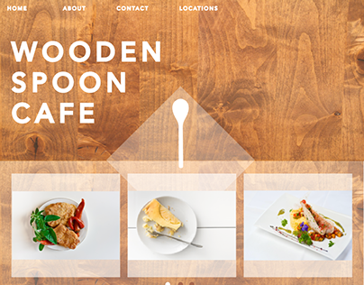 Cafe Web Design