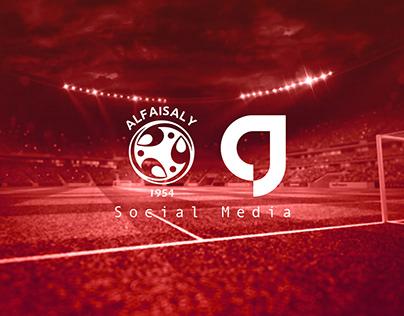 ِAlfaisaly Sport Club - Social Media