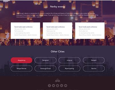 ZenRooms - city landing page