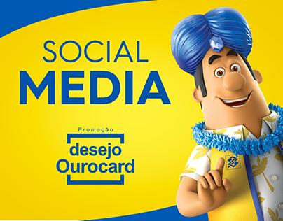 Social media - Promoção desejo Ourocard