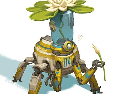 Robo-moods: Tender