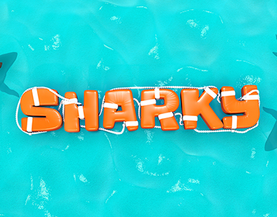 Sharky — Youtube Channel Identity
