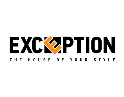 Exception logo intro animation.