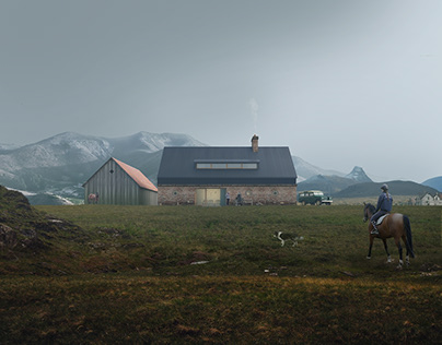Northern Farm by WSBY