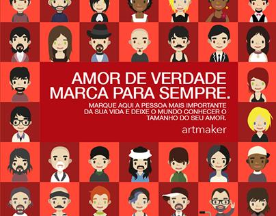 Dia dos Namorados | Artmaker