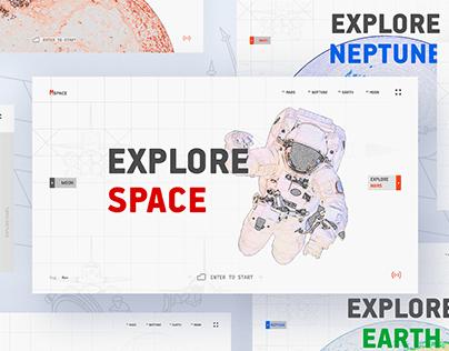 Explore space