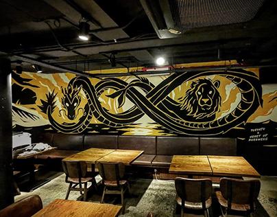 Heart of Darkness Singapore Mural