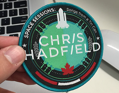 Chris Hadfield Badge