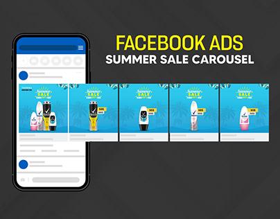 Summer Sale Carousel Design