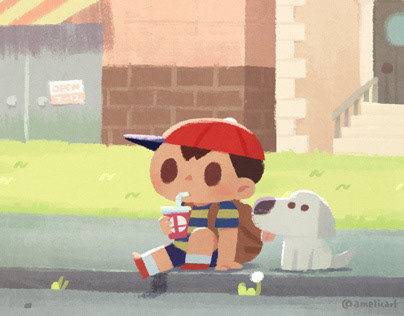 Earthbound fanart