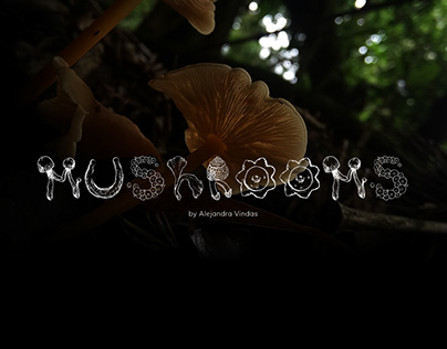 Mushrooms - Font