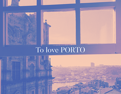 """To love Porto"" posters"