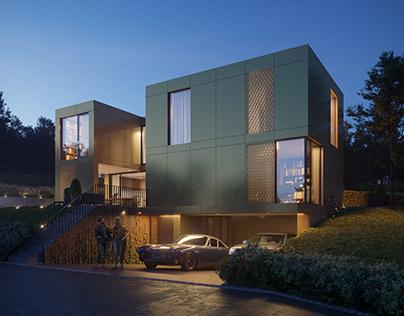 CGI: Modern House in Switzerland