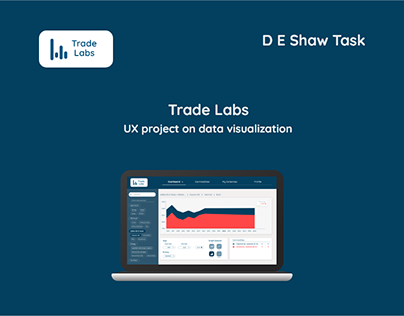 Trade Labs | D E Shaw Task | UX data visualisation