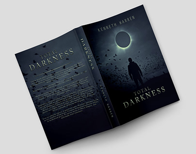 """Book Cover Design - """"Total Darkness"""""""