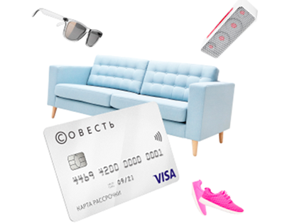 Sovest card visual style in web-communications
