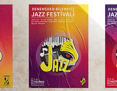 REYHAN PİR -Jazz Festivali Logo-Key visual-Afiş Tasarım