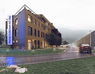 Apartment building in Switzerland - 1