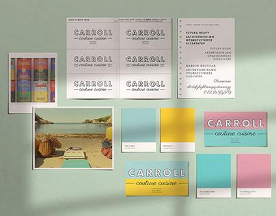 Carroll Couture Cuisine   Brand Development