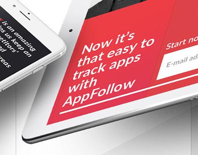 Appfollow | Website Design | 2016