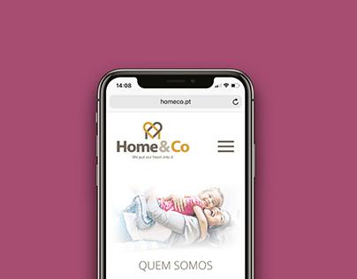 Home&Co Website