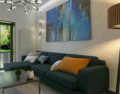 Интерьер частного дома от NADINDESIGN studio
