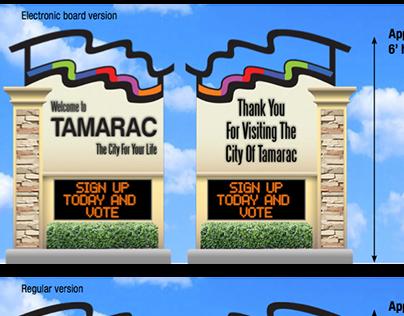 Signage & Rebranding for City of Tamarac