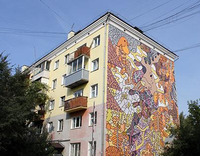 """Mural """"Kras"""" festival 2019"""